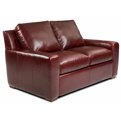 Lisben Loveseat in Leather by American Leather at Creative Classics Furniture in Alexandria VA near Arlington VA and Washington DC