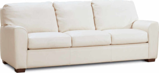 Kaden Sofa in cream leather by American Leather at Creative Classics Furniture in Alexandria VA near Washington DC and Arlington VA