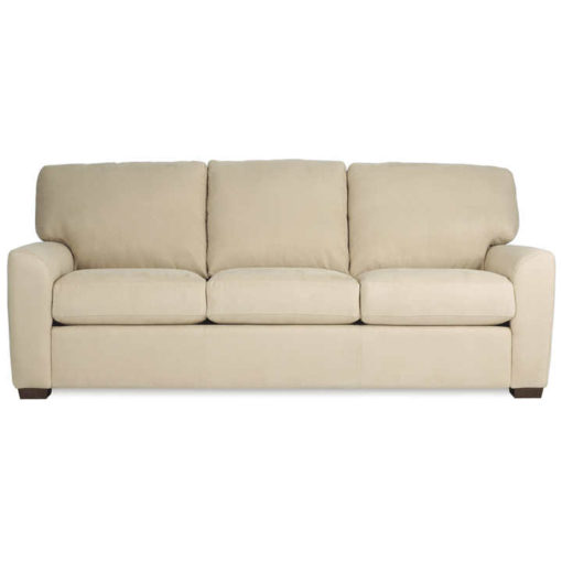 Kaden Sofa in cream fabric by American Leather at Creative Classics Furniture in Alexandria VA near Washington DC and Arlington VA
