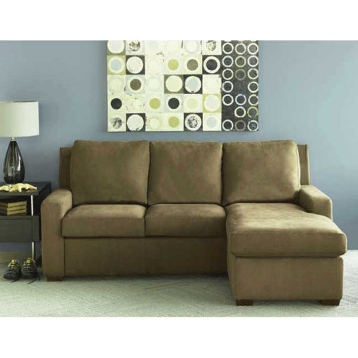 Lyndon Sectional Comfort Sleeper Sofa Scene