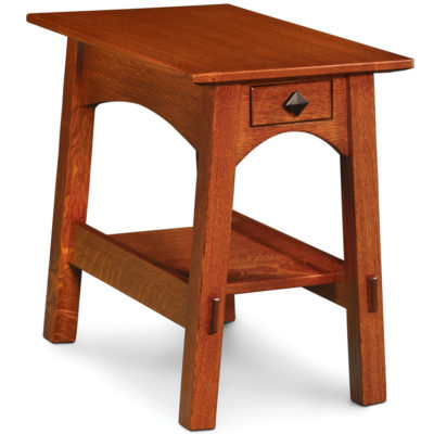 solid wood McCoy Chairside Table by Simply Amish Furniture at Creative Classics Furniture in Alexandria VA near Arlington VA and Washington DC