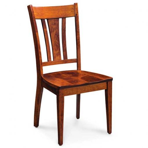 solid cherry wood Sheffield dining chair by Simply Amish Furniture at Creative Classics Furniture in Alexandria VA near Washington DC and Arlington VA
