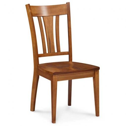 amberglow finish solid maple wood Sheffield dining chair by Simply Amish Furniture at Creative Classics Furniture in Alexandria VA near Arlington VA and Washington DC