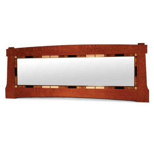 Horizontal solid wood framed mirror by Simply Amish Furniture at Creative Classics Furniture in Alexandria VA near Washington DC and Arlington DC