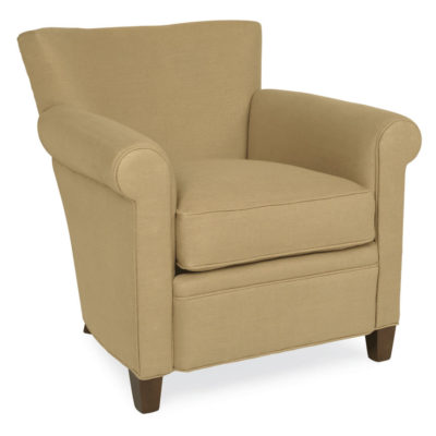 Front View of Philippe Swivel Chair in fabric by CR Laine Furniture at Creative Classics Furniture in Alexandria VA near Washington DC and Arlington VA