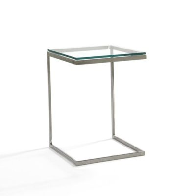 Modulus Accent Table with Glass Top and Metal Base by Johnston Casuals at Creative Classics Furniture in Alexandria VA near Arlington VA and Washington DC