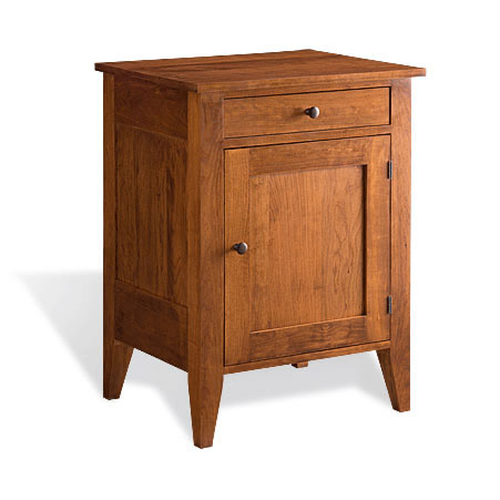 Vineyard II Nightstand with door by Gat Creek Furniture at Creative Classics in Alexandria VA near Arlington VA and Washington DC