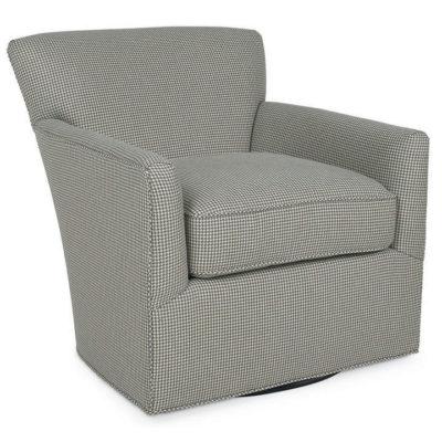 Shelburne Swivel Chair in Fabric by CR Laine Furniture at Creative Classics Furniture in Alexandria VA