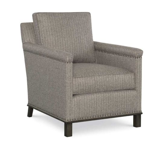 Gotham Chair in gray fabric by CR Laine Furniture