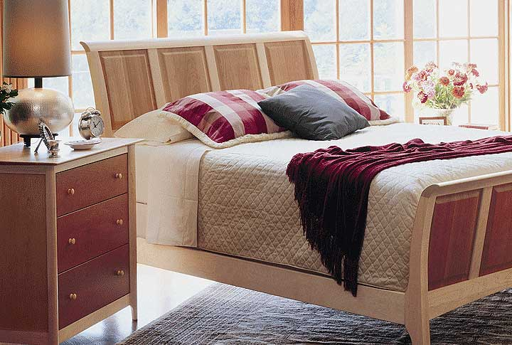 Bedroom Scene With Solid Wood Sarah Collection By Copeland Furniture At Creative Clics In
