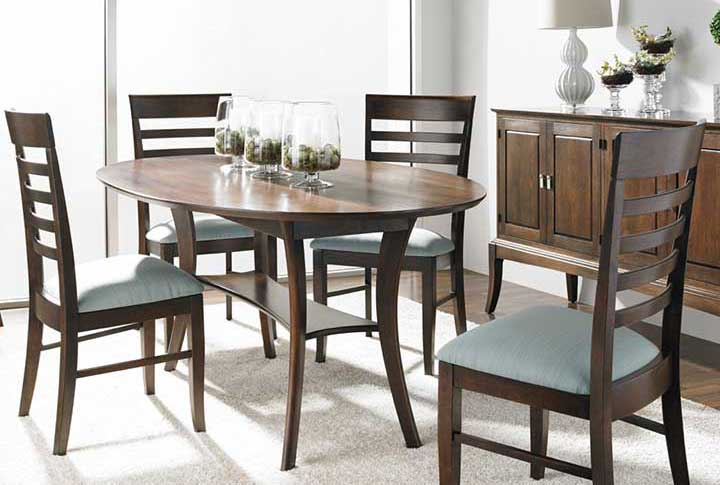 Dining Room Scene For Creative Clics Furniture In Alexandria Va