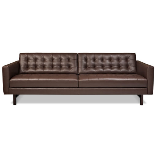 front view of American Leather Parker Sofa in Two Sizes at Creative Classics Furniture Alexandria VA near Arlington VA and Washington DC