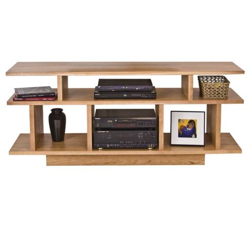 Solid wood Brookline Center TV Stand by Lyndon Furniture at Creative Classics Furniture in Alexandria VA near Washington DC and Arlington VA