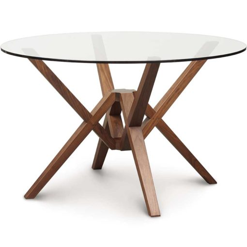 Exeter Glass Top Dining Table
