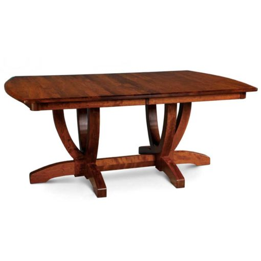 solid wood Brookfield Build Your Own Double Pedestal Table by Simply Amish Furniture at Creative Classics Furniture in Alexandria VA near Washington DC and Arlington VA