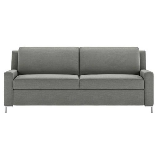 Bryson Comfort Sleeper Sofa in gray fabric by American Leather at Creative Classics Furniture in Alexandria VA near Washington DC and Arlington VA
