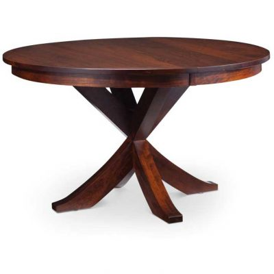Parkdale Solid Wood Round Dining Table by Simply Amish Furniture at Creative Classics Furniture in Alexandria VA near Washington DC and Arlington VA