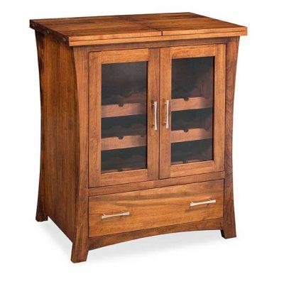 Loft Mini Bar Cabinet by Simply Amish Furnture at Creative Classics Furniture in Alexandria VA near Washington DC and Arlington VA