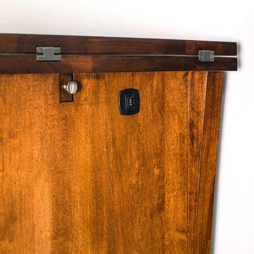 Switch detail of Loft Mini Bar Cabinet by Simply Amish Furniture at Creative Classics Furniture in Alexandria VA near Washington DC and Arlington VA