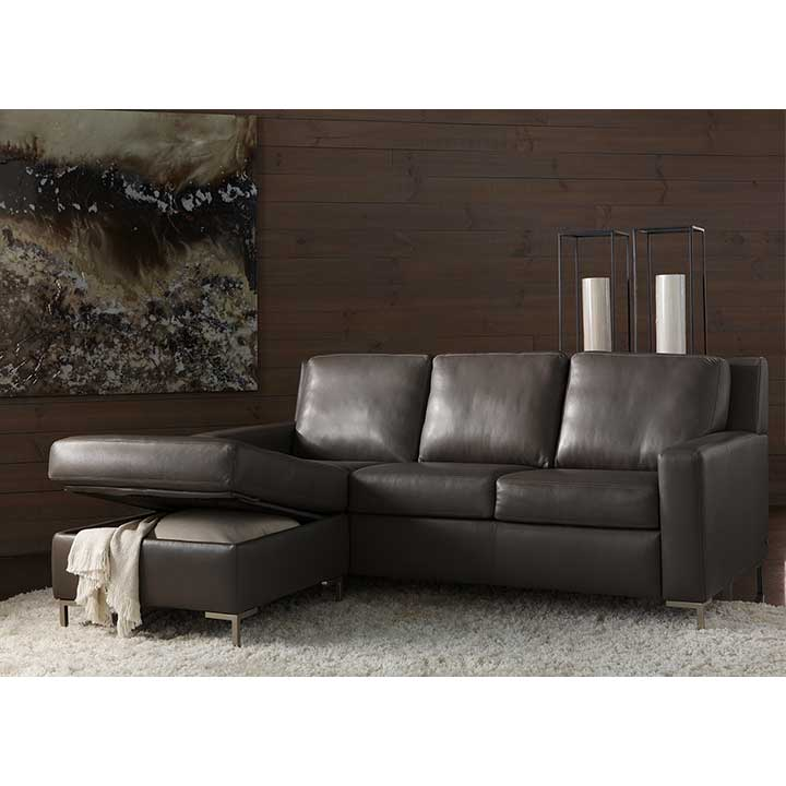 Rooms: Sectional Comfort Sleeper Sofas By American Leather