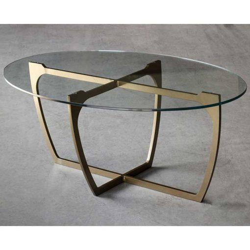 Glass and metal Fontana Coffee Table by Charleston Forge at Creative Classics Furniture in Alexandria VA near Washington DC and Arlington VA