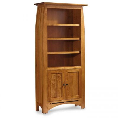 Solid Wood Aspen Tall bookcase by Simply Amish at Creative Classics Furniture in Alexandria VA near Washington DC and Arlington VA