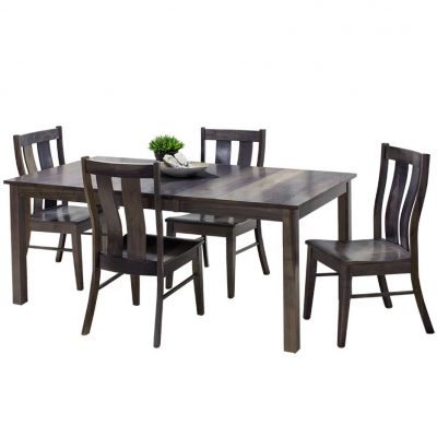 Sheffield Solid Wood Dining Table and Chairs Set by Simply Amish Furniture at Creative Classics Furniture in Alexandria VA