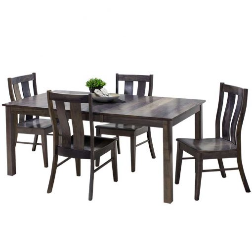 Sheffield Solid Wood Dining Table and Chairs Set by Simply Amish Furniture at Creative Classics Furniture in Alexandria VA near Washington DC and Arlington VA