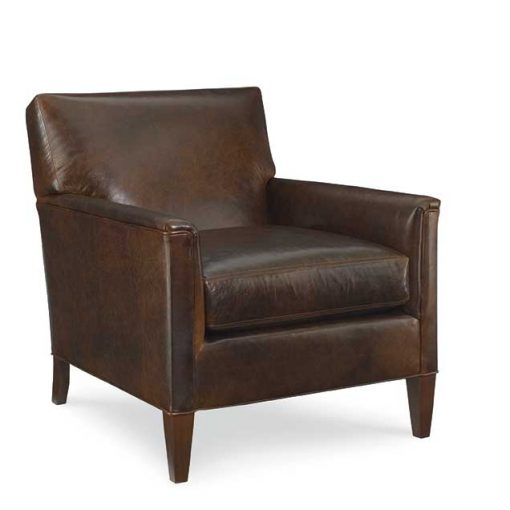 Digby Chair in brown leather by CR Laine Furniture at Creative Classics Furniture in Alexandria VA near Washington DC and Arlington VA