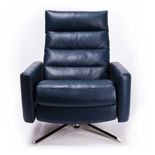 Cirrus Comfort Air™ Chair by American Leather Front View at Creative Classics Furniture in Alexandria VA near Arlington VA and Washington DC
