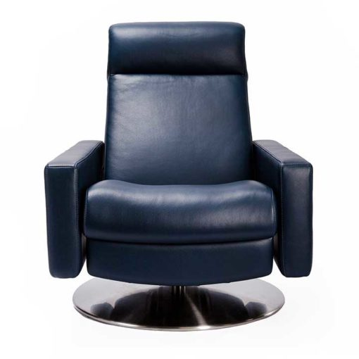 Cloud Comfort Air™ Chair by American Leather Front View at Creative Classics Furniture in Alexandria VA near Arlington VA and Washington DC