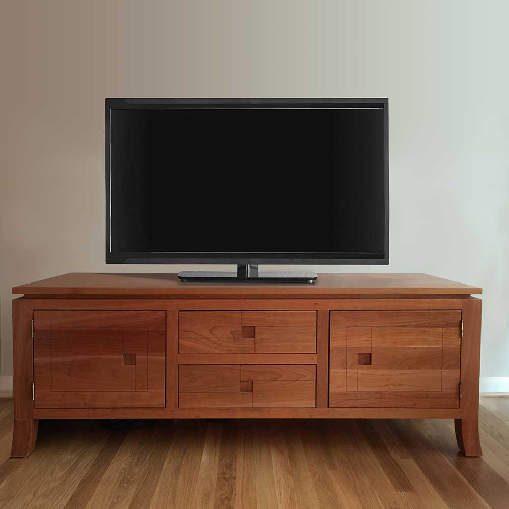 Photo of customer's completed TV Stand