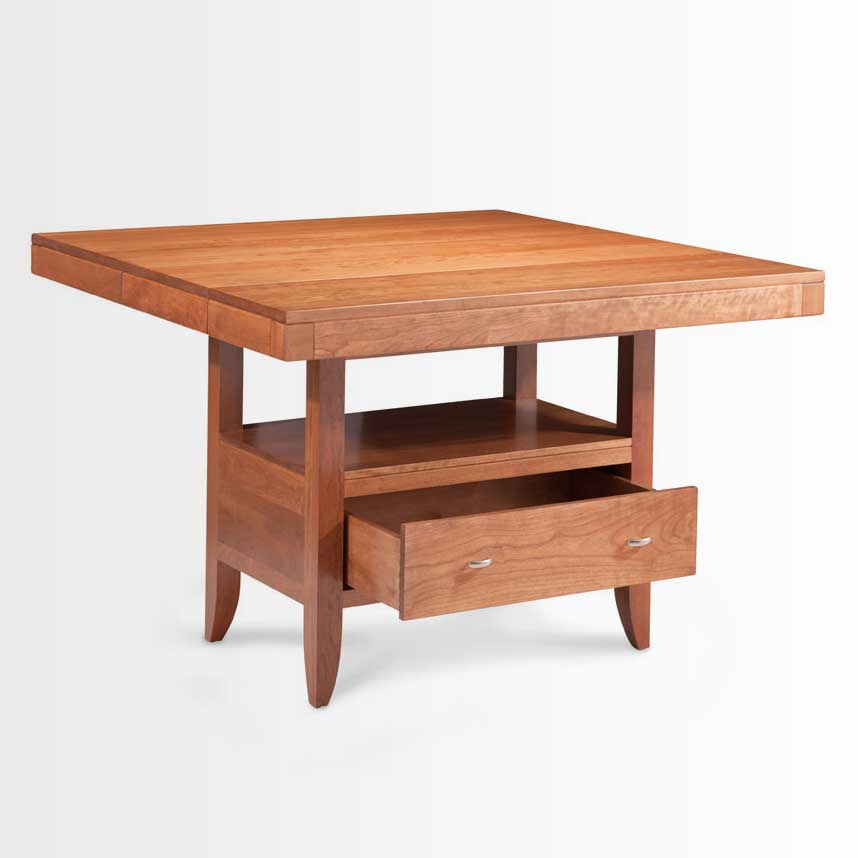 The Justine Island Table from Simply Amish served as the inspiration for this piece.