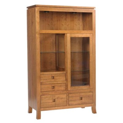 Solid wood Aspen Hutch Cabinet by Canal Dover at Creative Classics Furniture in Alexandria VA near Washington DC and Arlington VA