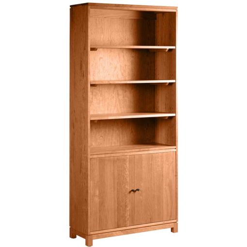 Oxford Tall Bookcase with Doors
