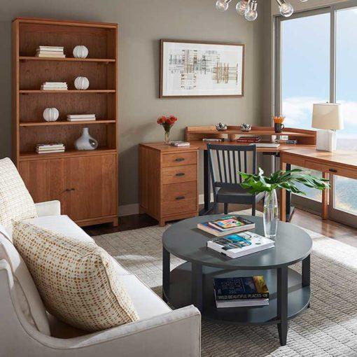 Solid hardwood Oxford office furniture by Gat Creek Furniture at Creative Classics Furniture in Alexandria VA near Washington DC and Arlington VA