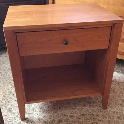 Dominion 1-Drawer Nightstand - Natural