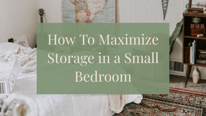 How To Maximize Storage in a Small Bedroom