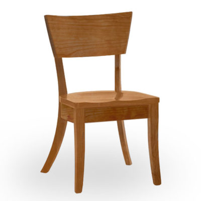 Aspen chair with wood seat