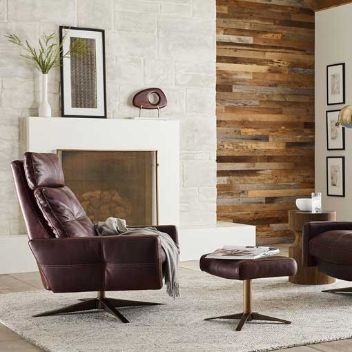 Rainier Comfort Air™ Chair by American Leather
